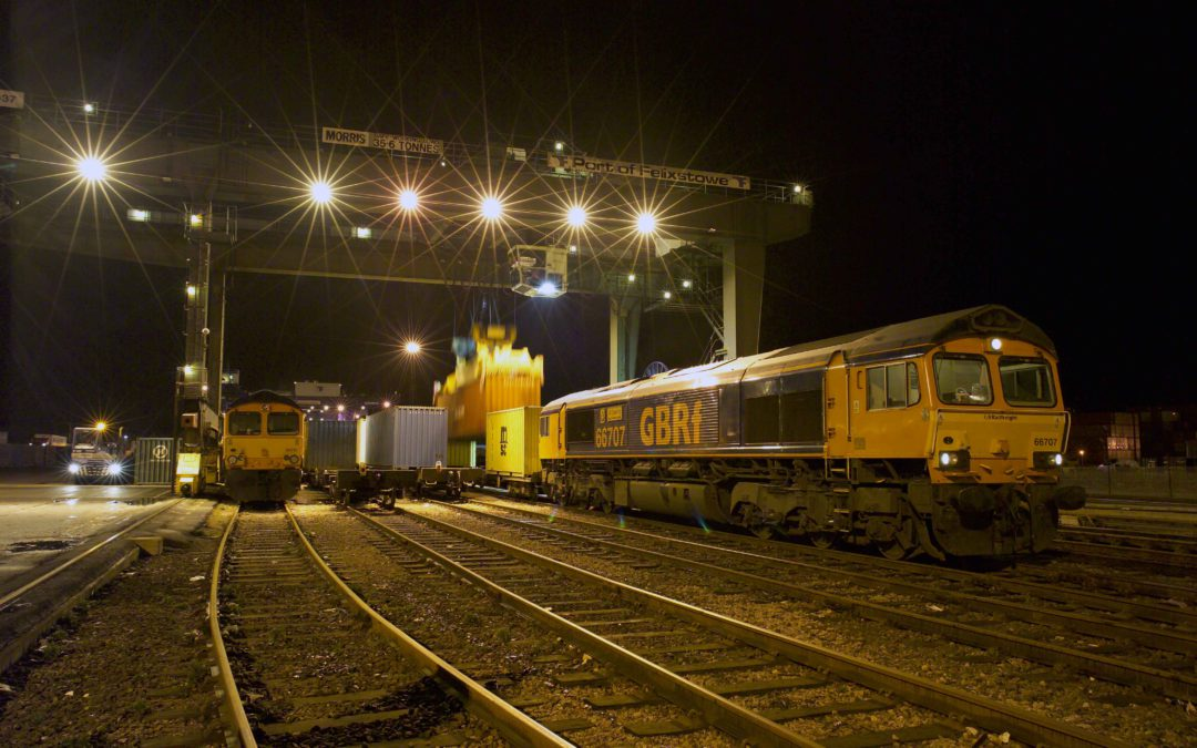 GB Railfreight Announce New Service From Felixstowe To IPort