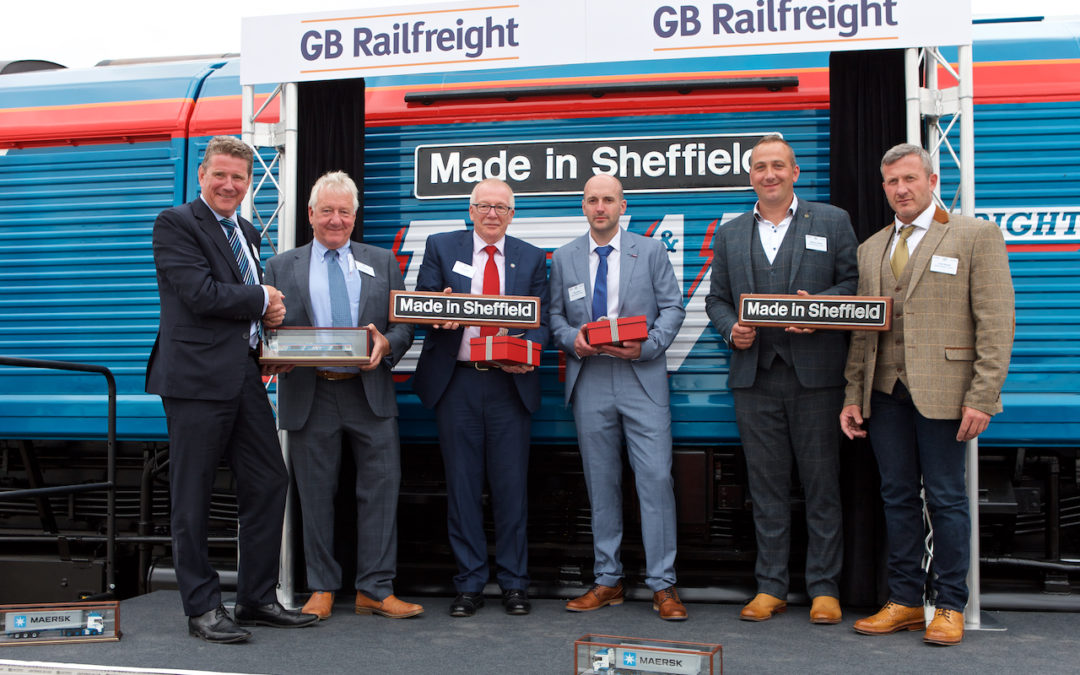 GB Railfreight and Newell & Wright unveil new 'Made in Sheffield' Locomotive