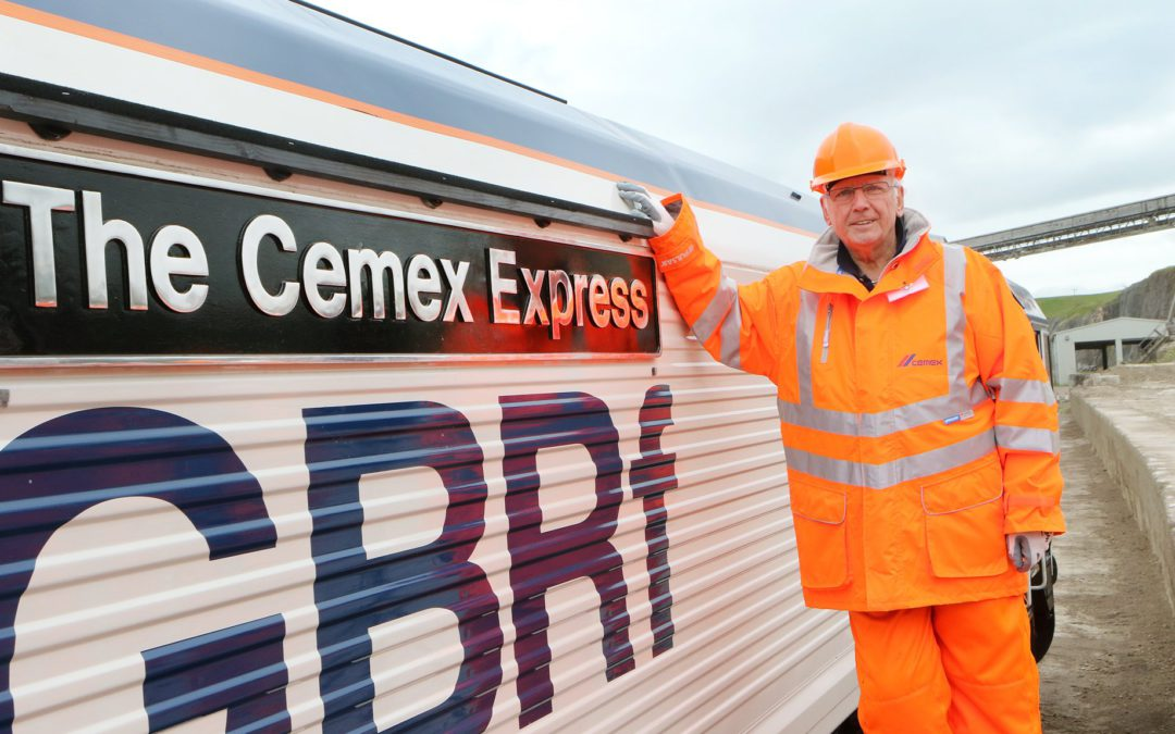 GB Railfreight and CEMEX Launch New Branded Locomotive at Official Naming Ceremony