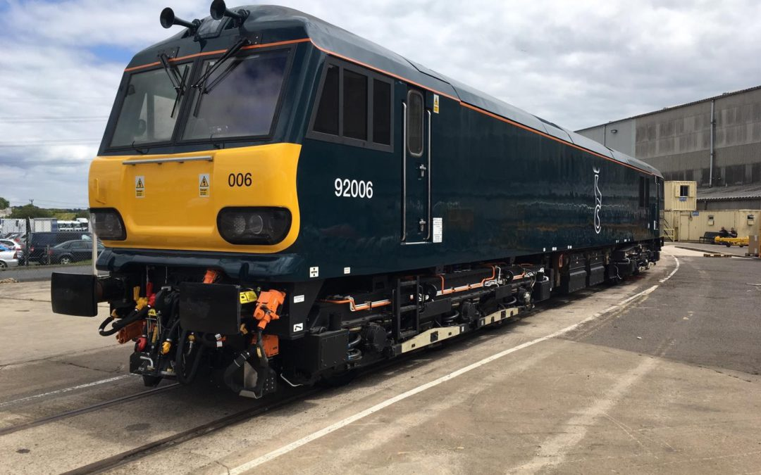 GBRf's £2 Million Refurbished Class 92 to Enter Caledonian Sleeper Service