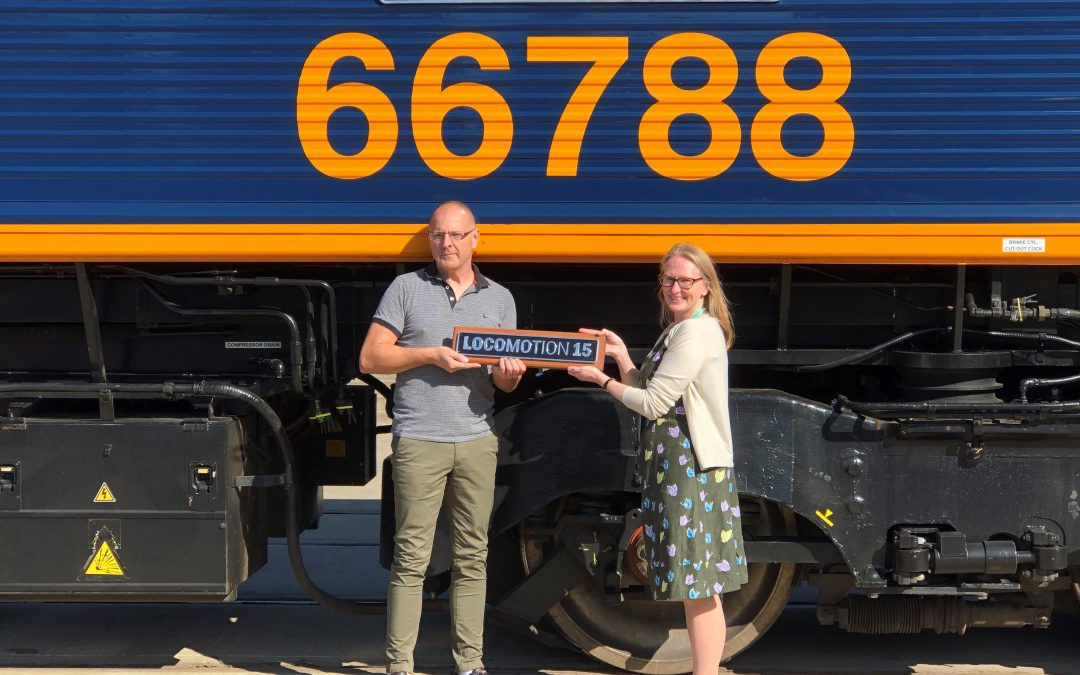 GB Railfreight Celebrates Locomotion's 15th Anniversary with Class 66 Naming