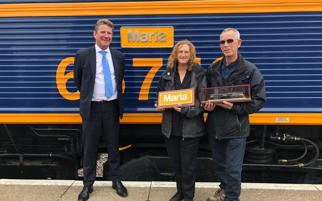 GBRf honour long serving employees with loco naming