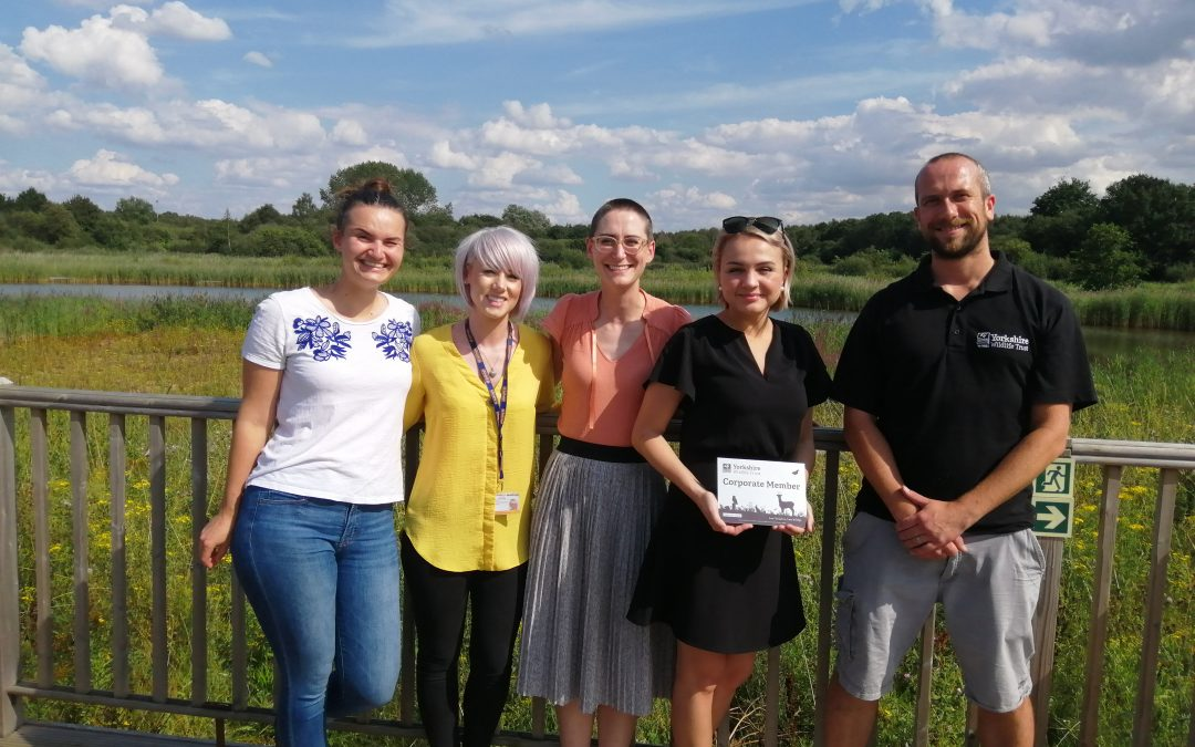 GBRf Renew Sponsorship with Potteric Carr Nature Reserve