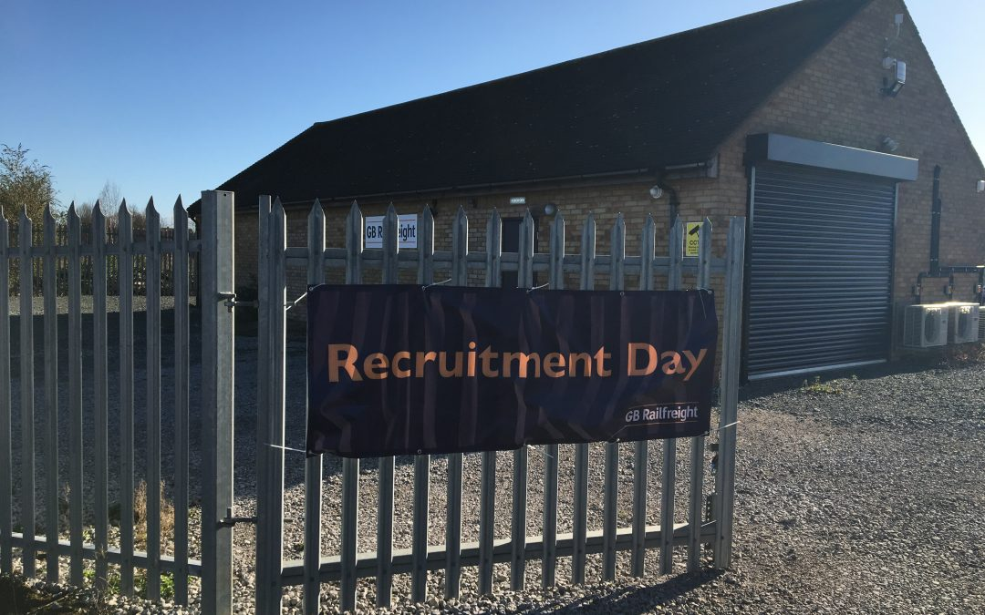 GB Railfreight Holds Recruitment Day for Military Service Leavers in Peterborough