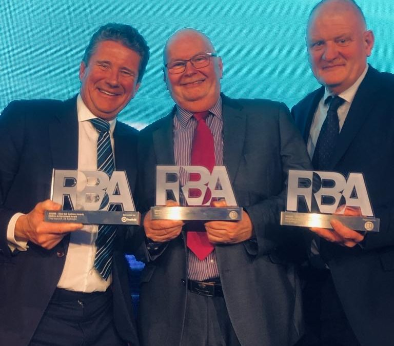 GBRf Scoop a Hat Trick of Awards at Rail Business Awards