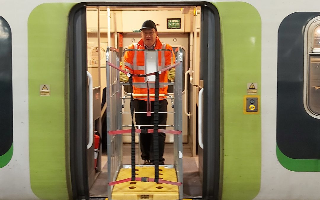GB Railfreight trials express delivery trains for vital NHS supplies