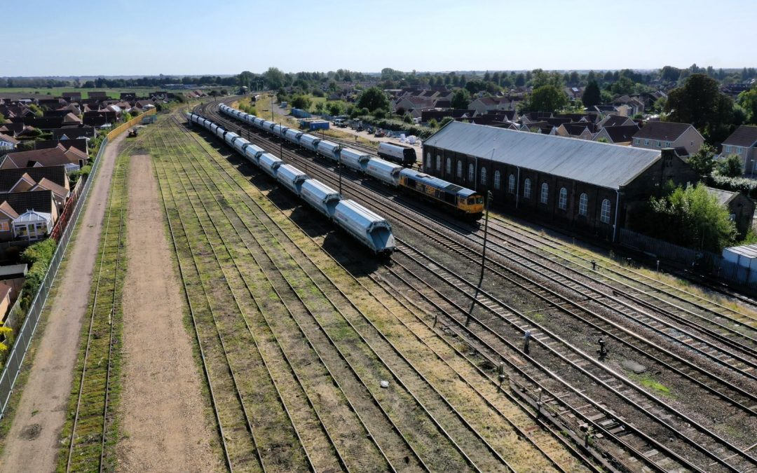GB Railfreight announce extra investment in Cambridgeshire properties and facilities despite economic uncertainty