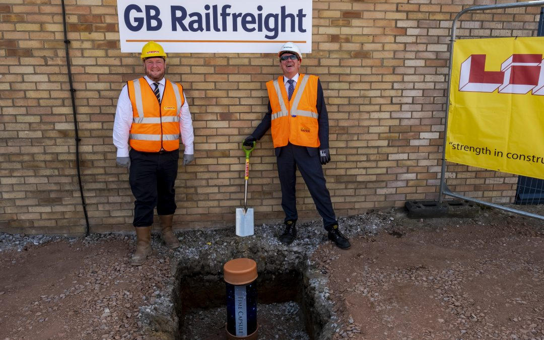 GB Railfreight to bury 'time capsule' at site of new Peterborough office
