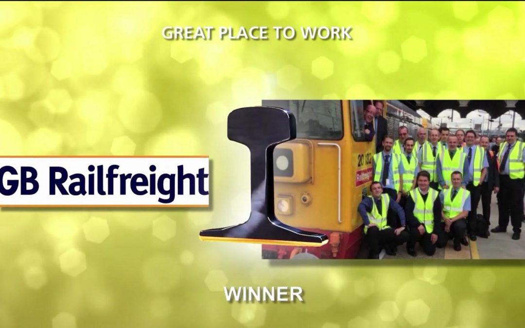 GBRf celebrates success at the National Rail Awards