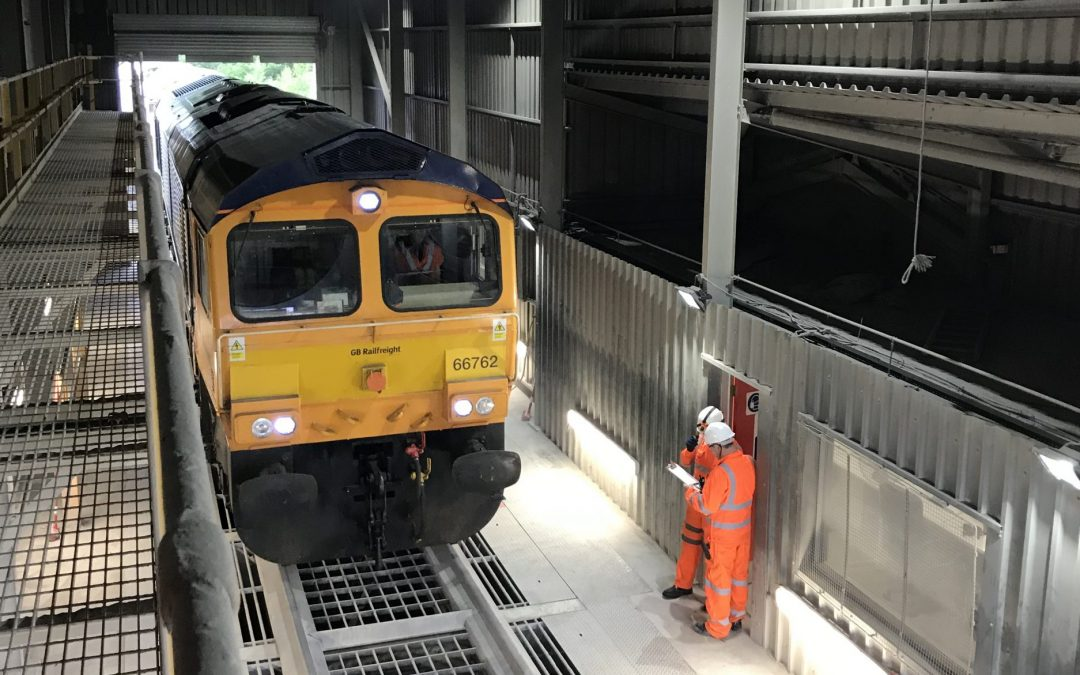 GB Railfreight Announces Contract Renewal with Tarmac