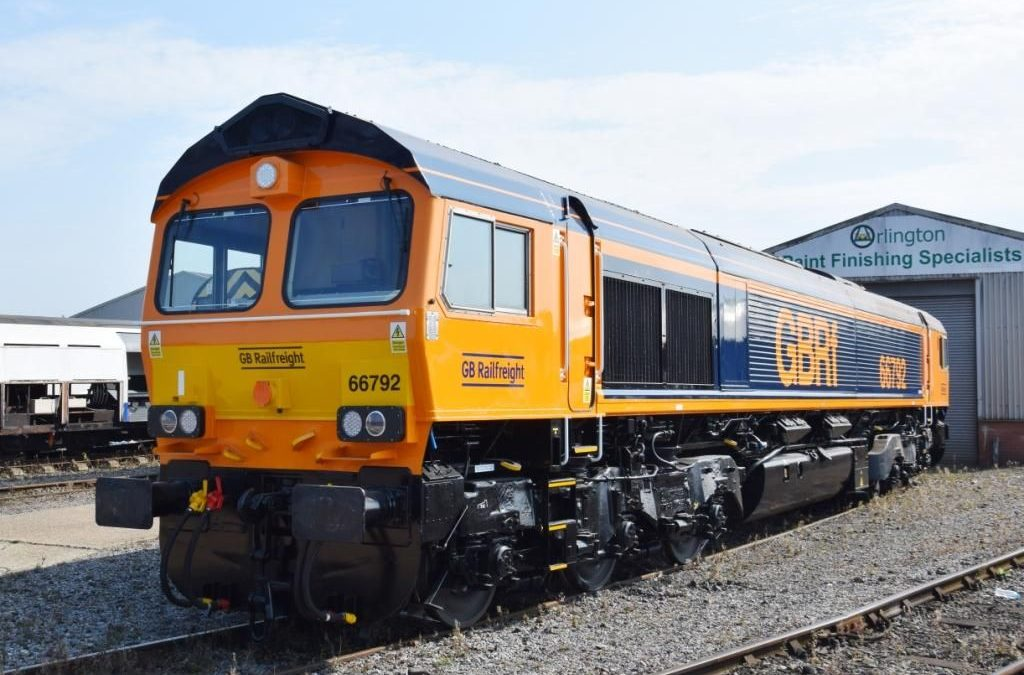 GB Railfreight agrees deal for five new Class 66 locos
