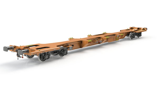 GB Railfreight partner with Wascosa to supply innovative modular wagons for UK Rail Infrastructure services