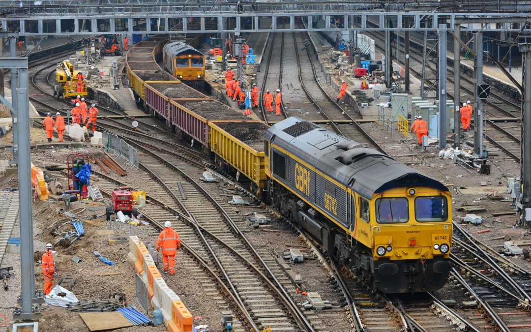 GBRf supports work to improve service to and from King's Cross