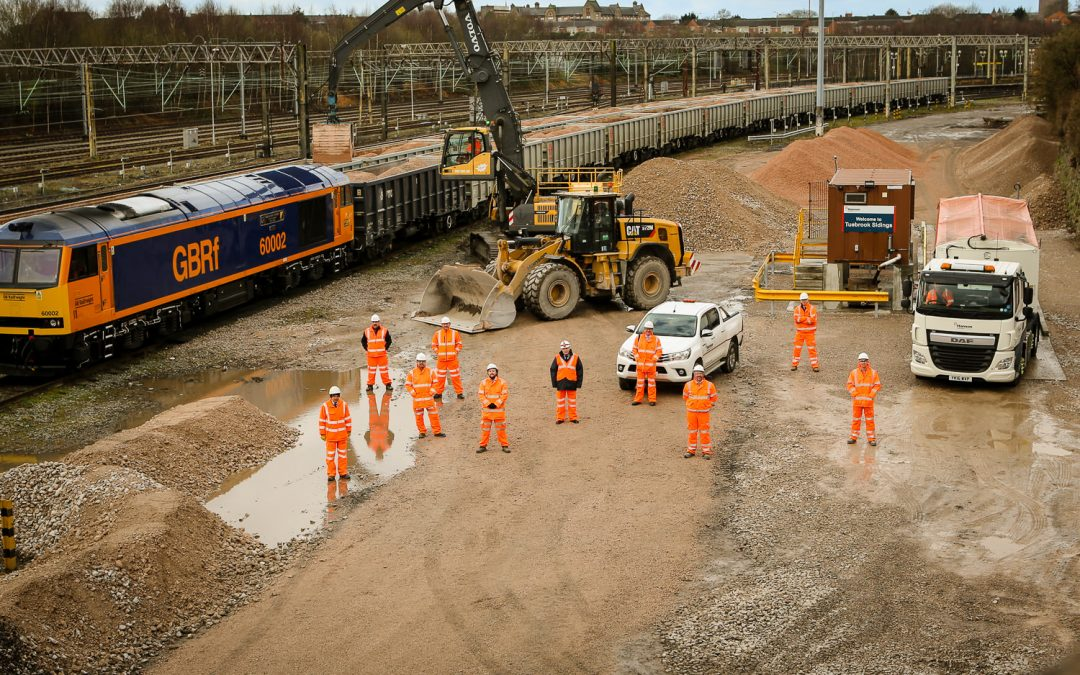 GB Railfreight and Hanson announce new contract