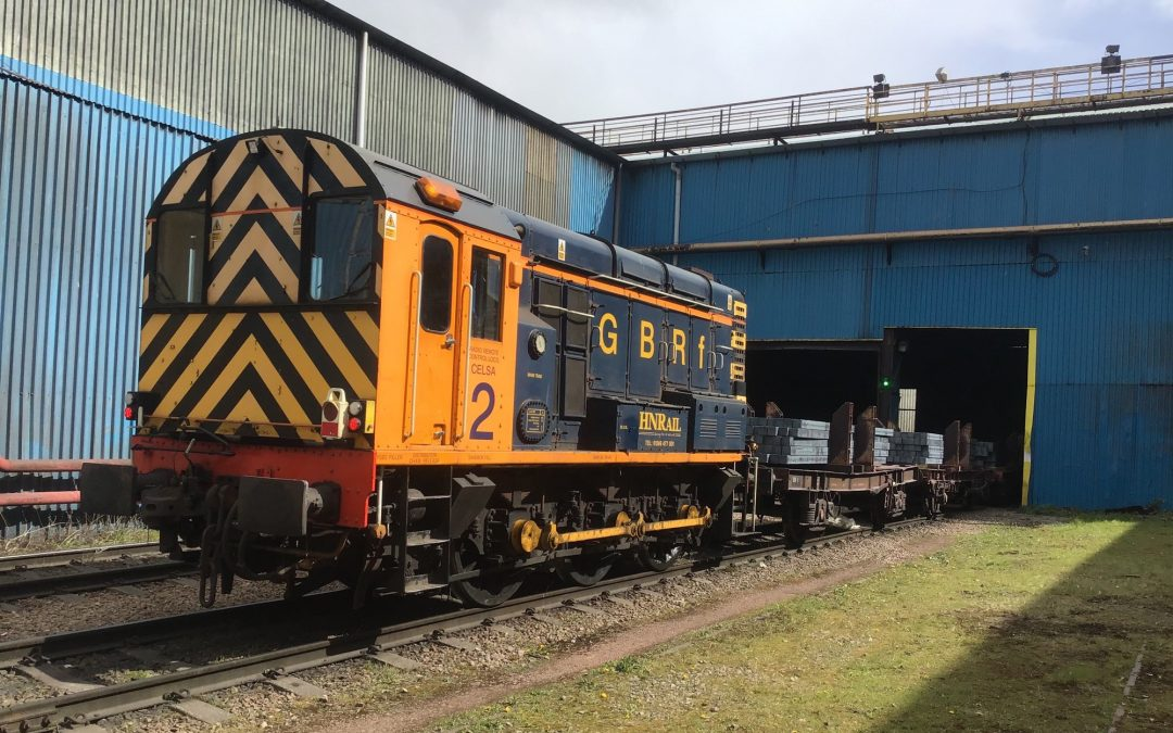 GB Railfreight announce new contract with Celsa
