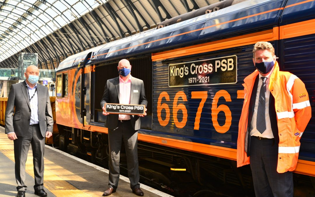 GBRf name new locomotive as King's Cross project reaches final stage