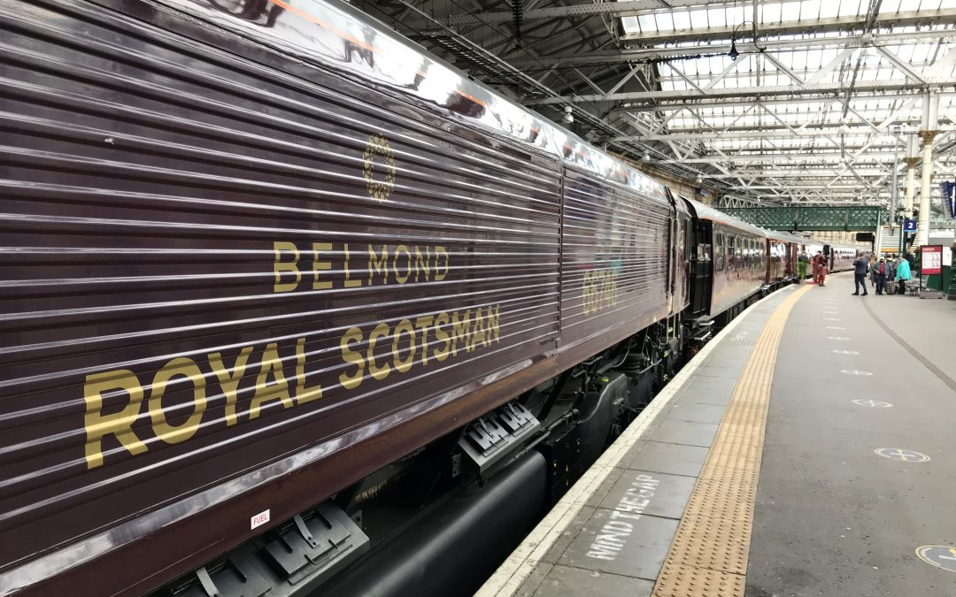 GBRf extend contract with Belmond for Royal Scotsman, A Belmond Train, Scotland's haulage