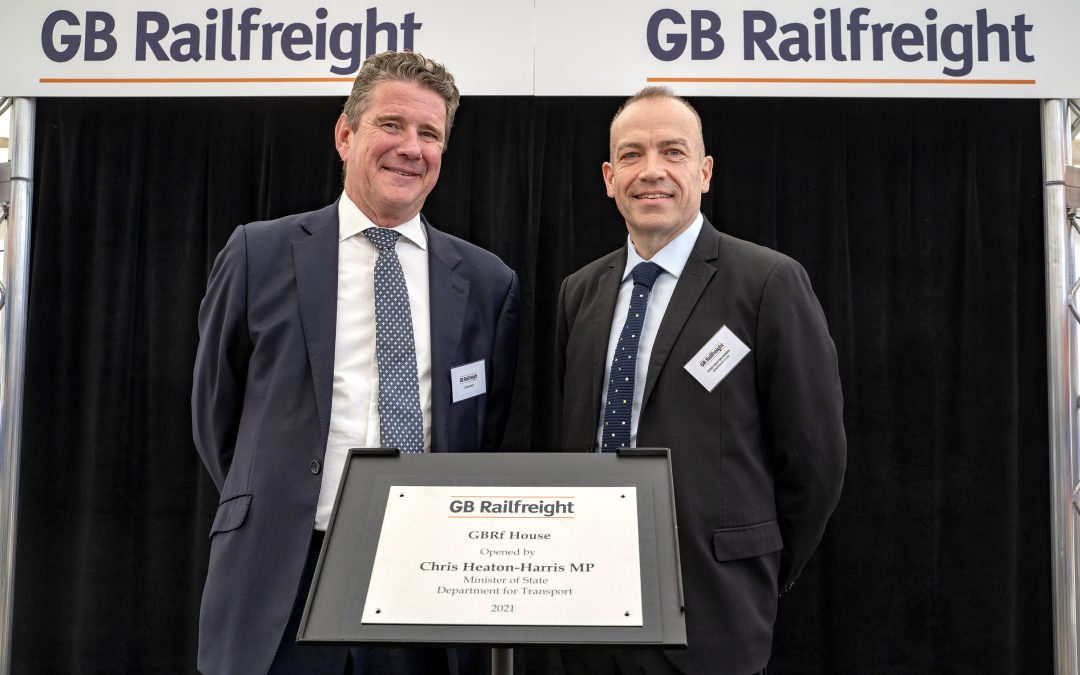 GB Railfreight's regional investment continues with new Peterborough HQ, officially opened by Rail Minister